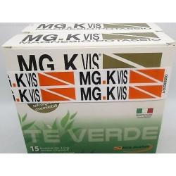 Pool Pharma - MG.K Vis Magnesio Potassio Tè Verde Integratore Sali Minerali 15 Bustine+ 15 Bustine - 942602653