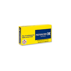 Pfizer - PREPARAZIONE H 12SUPP 23MG - 017389065