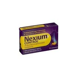 Pfizer - NEXIUM CONTROL 14CPRGAST20MG - 042922029