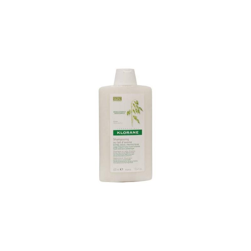 Klorane - Klorane Shampoo Latte Avena 400 Ml - 902976253