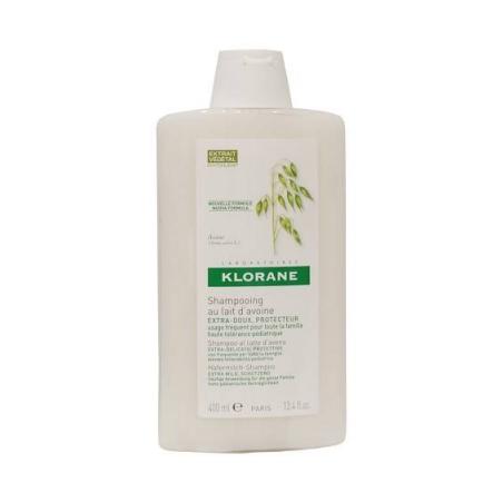 Klorane Shampoo Latte Avena 400 Ml