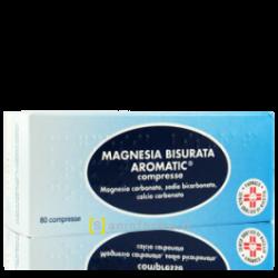 Pfizer - MAGNESIA BISURATA AROMATICA 80COMPRESSE - 005781048