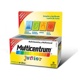 Pfizer - MULTICENTRUM JUNIOR 30CPR 善存4岁以上儿童综合维生素咀嚼片30片 - 938657172