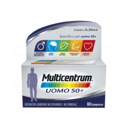 Pfizer - MULTICENTRUM UOMO 50+ 60COMPRESSE 善存男性50岁以上,综合维生素矿物质颗粒 60粒 - 942006166