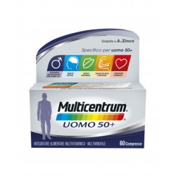 Pfizer - MULTICENTRUM UOMO 50+ 60COMPRESSE - 942006166