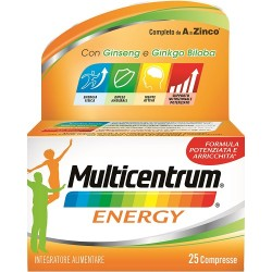 Pfizer - MULTICENTRUM MC ENERGY 25CPR - 975030836