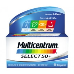 Pfizer - MULTICENTRUM SELECT 50+90CPR 复合维生素(通用型50岁以上人群)90粒 - 938657018