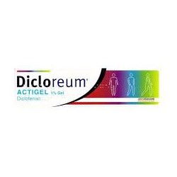 ALFASIGMA - DICLOREUM ACTIGEL GEL 100G1% - 035450028