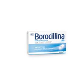 ALFASIGMA - Neoborocillina 16 Pastiglie Senza Zucchero - 022632145