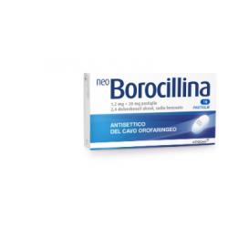 ALFASIGMA - Neoborocillina 16 Pastiglie 1,2+20mg - 022632121