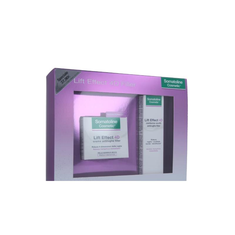 Somatoline Lift Effect 4D Filler Cofanetto Crema Giorno+Contorno Occhi