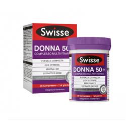 Swisse - Swisse Multivitaminico Donna 50+ 30 Compresse - 976769568