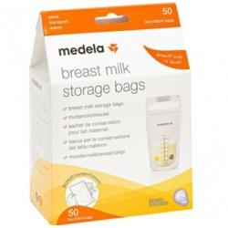 Medela - Medela Sacche per la Conservazione del Latte Materno Storage Bags 50pz - 973721311