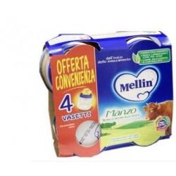 Mellin - Mellin Omogeneizzati Manzo 4X80g - 927166621