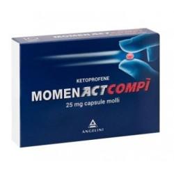 Angelini Spa - MOMENACTCOMPI 10CPS 25MG - 027366032