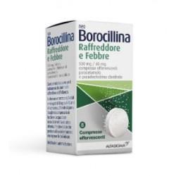ALFASIGMA - NEOBOROCILINA RAFFREDDORE&FEBBRE 8 COMPRESSE EFFERVESCENTI - 040342014