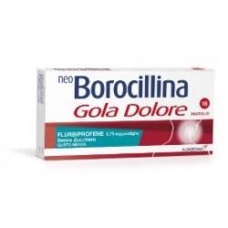 ALFASIGMA - NEOBOROCILLINA GOLADOLORE 16PASTIGLIE MENTA SENZA/ZUCCH - 035760040