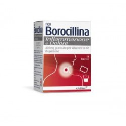 ALFASIGMA - Neoborocillina Infiammazione E Dolore 12 Bustine - 040033019
