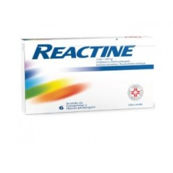 Johnson & Johnson - REACTINE 6 COMPRESSE 5MG+120MG RILASCIO PROLUNGATO - 032800043