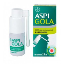 Bayer Spa - ASPI GOLA SPRAY 15ML0,25% - 041513021