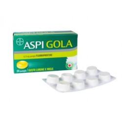Bayer Spa - ASPI GOLA 24 PASTIGLIE LIMONE E MIELE - 041513045