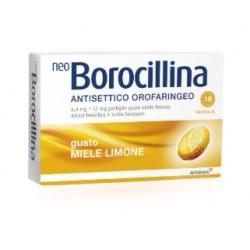 ALFASIGMA - NEOBOROCILLINA ANTISETTICO OROFARINGEO 16PASTIGLIE LIMONE - 004901233