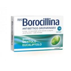 ALFASIGMA - NEOBOROCILLINA ANTISETTICO ORALE 16PASTIGLIE MENTOLO - 004901195