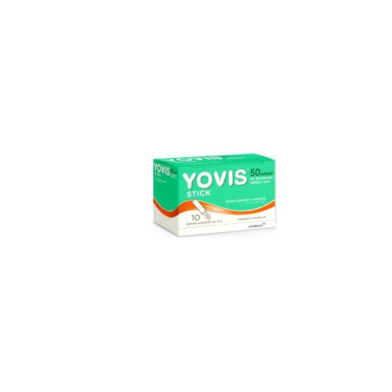 ALFASIGMA - Yovis Stick 10 Bustine - 972264410