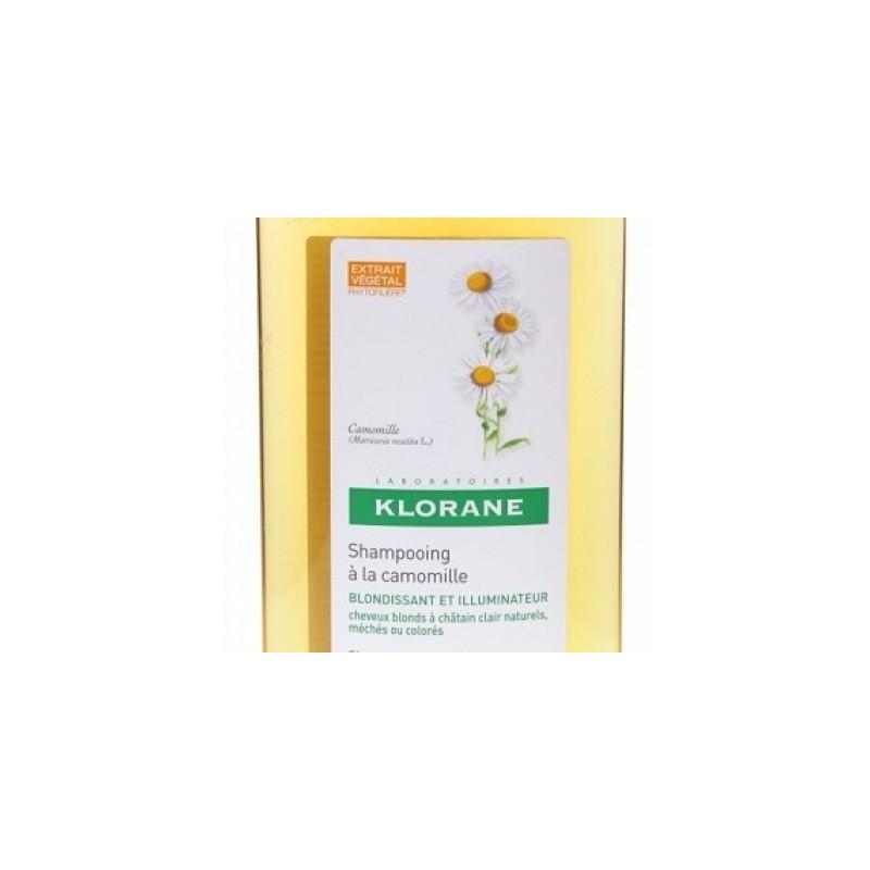 Klorane - Klorane Shampoo Camomilla 400 Ml - 902506498