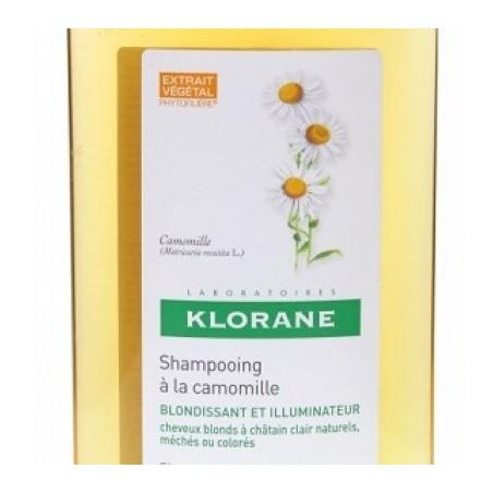 Klorane Shampoo Camomilla 400 Ml