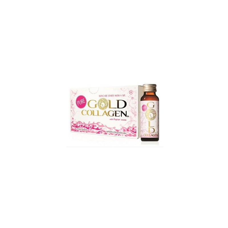 MINERVA RESEARCH LABS - GOLD COLLAGEN PURE 10FLACONCINI - 933942450