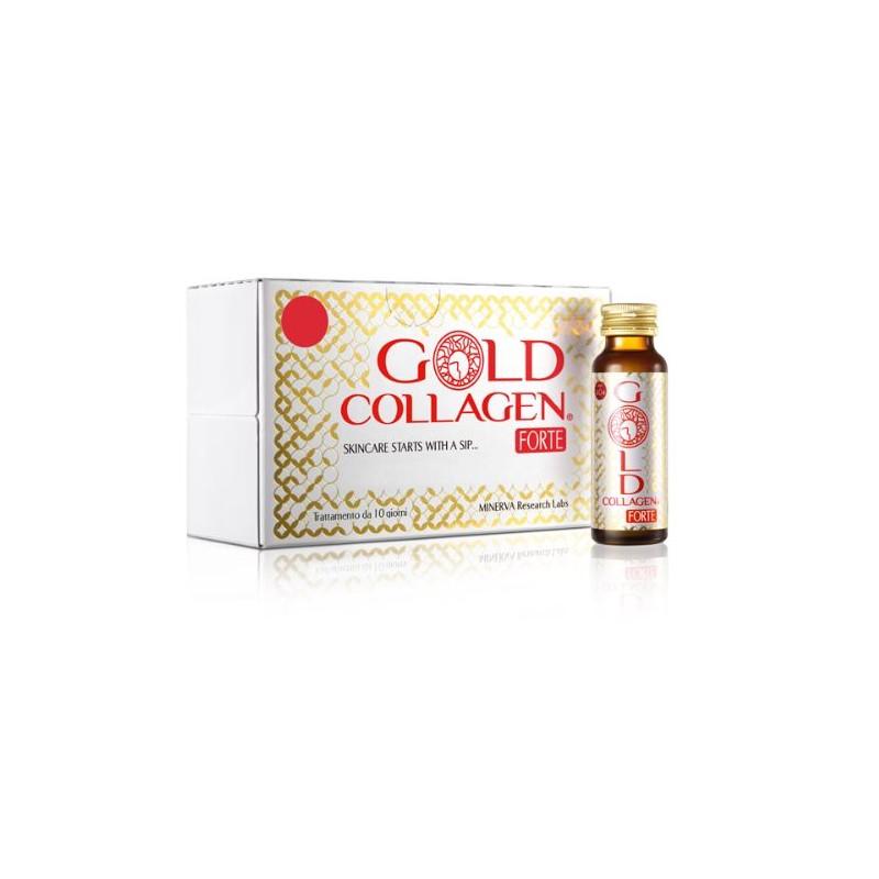 GOLD COLLAGEN FORTE 10FLACONCINI