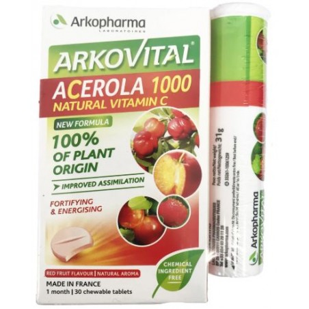 ACEROLA 1000 45  COMPRESSE