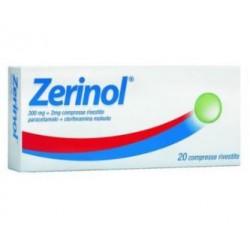 Sanofi - ZERINOL 20Compresse rivestite 300MG+2MG - 035304043