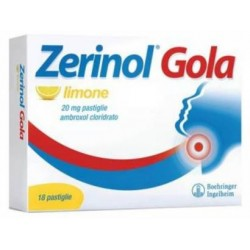 Sanofi - ZERINOL GOLA Limone 18 Pastiglie 20MG - 041239195
