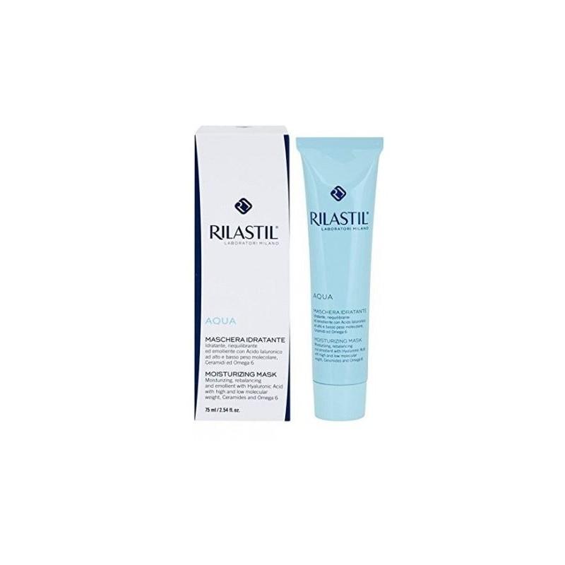 Rilastil - Rilastil Aqua Maschera Viso 俪纳斯芙蓉补水面膜 75 ml - 912274750