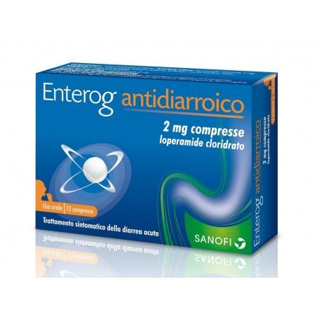 Enterog Antidiarroico 2 mg - 12 compresse