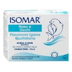 Euritalia pharma - ISOMAR SOLUZIONE ISOTONICA 24 FLACONCINI 5ML - 906059415