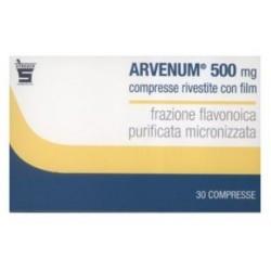 Farmaciapoint - Arvenum 500 30 compresse 500mg - 024552022