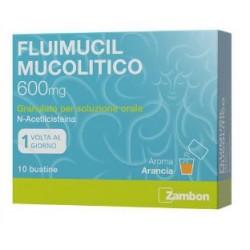 Zambon Italia Srl - Fluimucil 600mg mucolitico bustine - 034936169