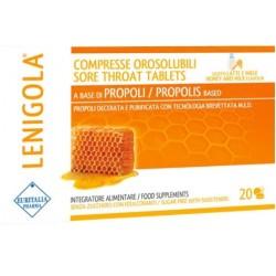 Euritalia pharma - LENIGOLA LATTE/MIELE 20 COMPRESSE OROSOLUBILI - 903939508