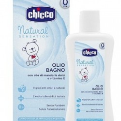 Chicco - Chicco Olio Bagno Natural Sensation 200 Ml - 927170124