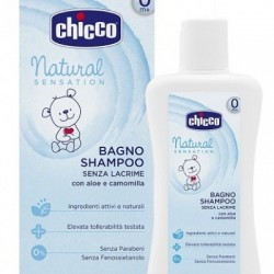 - Chicco Bagno Shampoo Natural Sensation 200 Ml - 927170338